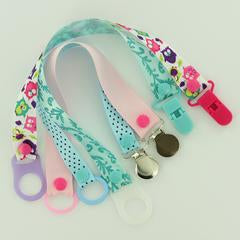 """No Sew"" Pacifier Clips with MAM or O-Rings"
