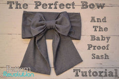 The Perfect Bow with KAM Plastic Snaps