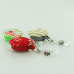 Fabric Cover Button Badge Reels