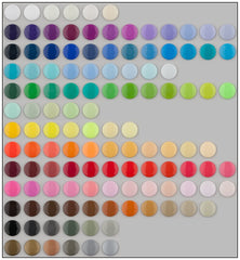 KAM Plastic Snap Color Charts