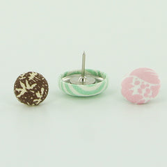 Fabric Cover Button Push Pins