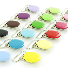 Enamel Metal Clips