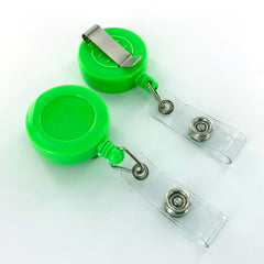 Green Badge Reels (Clip Back)