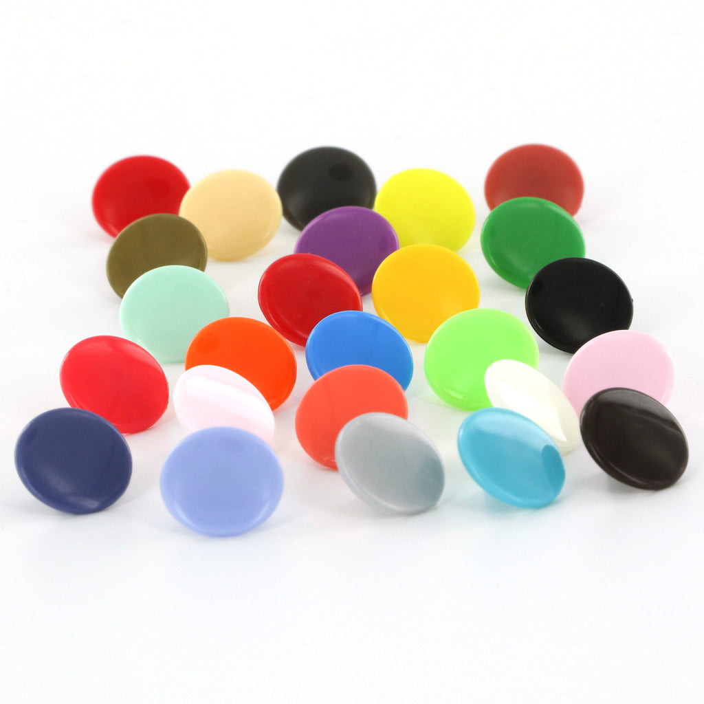 Size 16 KAM Plastic Snaps (Choose 25 Colors)