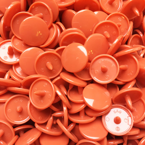 1000 Sets - Light Rusty (Size 20) KAM Plastic Snaps