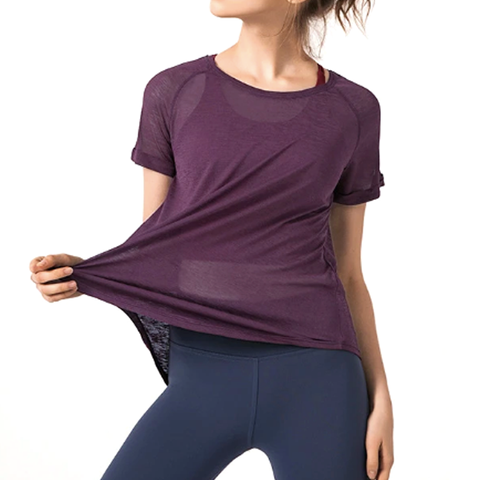 Women's Breathable Yoga Top