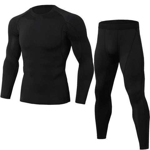 Men's Running Compression Set