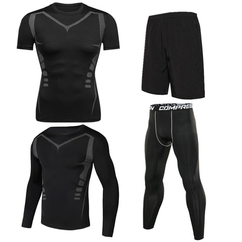Action Men's Performance Compression Set