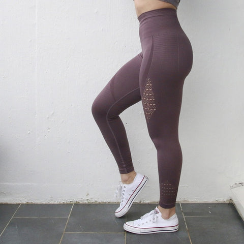 High-Waist Stretch Goddess Yoga Leggings
