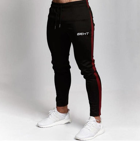 Casual Men's Tapered Cotton Sweatpants