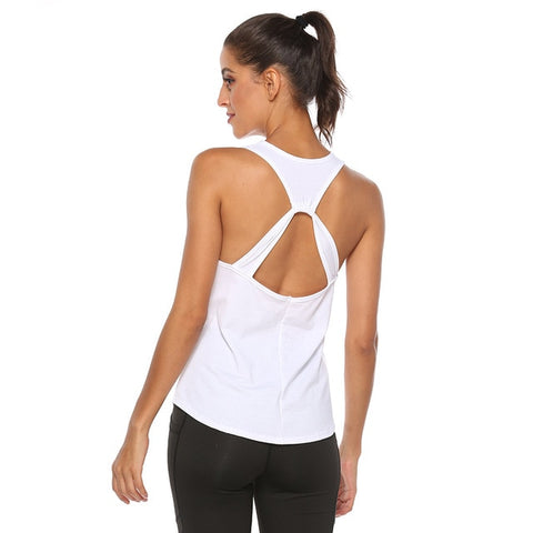 Breathe Yoga Backless Top