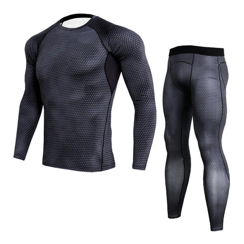 High-Quality Quick-Drying Men's Compression Training Set