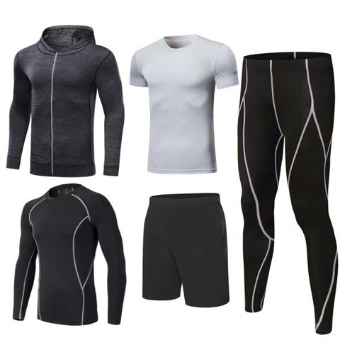 Men's Five Piece Complete Compression Set