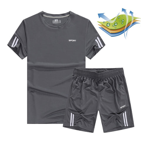 Quick Dry Men's Sport Running Set