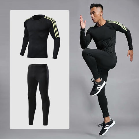 Men's Sports Compression Racing Set