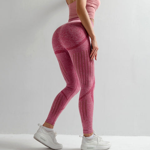 High-Waist Compression Yoga Leggings
