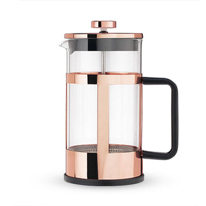 Coffee French Press - Rose Gold - Bird and Bee Naturals