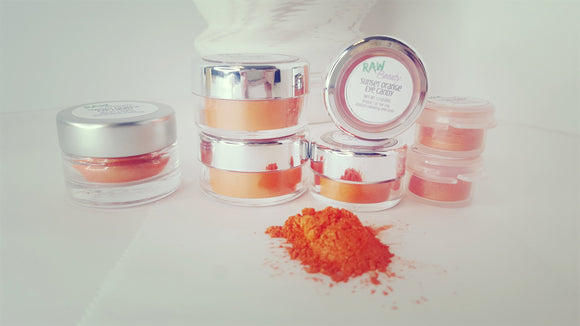Sunset Eye shadow - (Vegan/Natural) - Bird and Bee Naturals