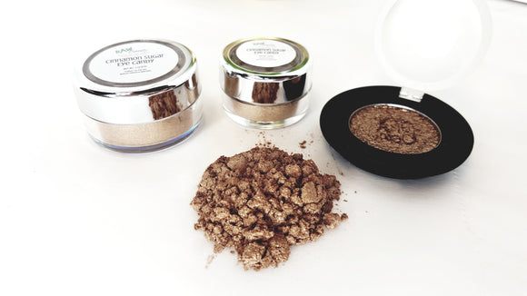 Cinnamon Sugar Eye Shadow - (Vegan/Natural) - Bird and Bee Naturals
