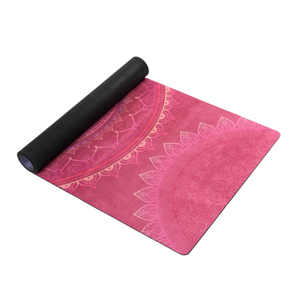 Natural Rubber Yoga Mat - Passion - Bird and Bee Naturals