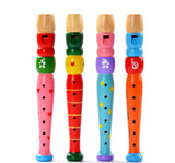 Wooden Recorder/Flute Toy - Natural - Bird and Bee Naturals