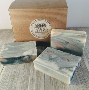 Island Breeze Soap - Palm Oil Free - Organic - Bird and Bee Naturals
