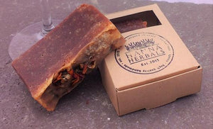 Merlot Soap - Organic - Palm Oil Free - Bird and Bee Naturals