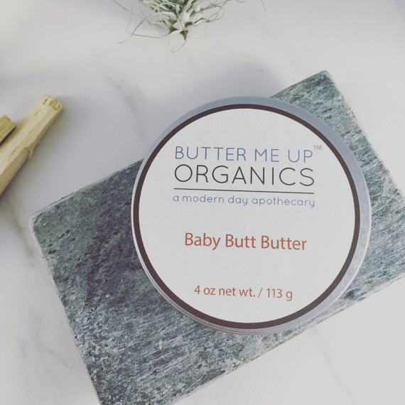 Baby Butt Butter- Organic Diaper Cream - Bird and Bee Naturals