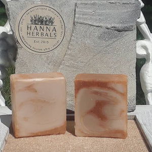Organic Amber Sandalwood Soap -Palm Oil Free - Bird and Bee Naturals