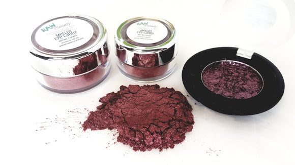 Merlot Eye Shadow - Blush Shimmer (Vegan/Natural) - Bird and Bee Naturals