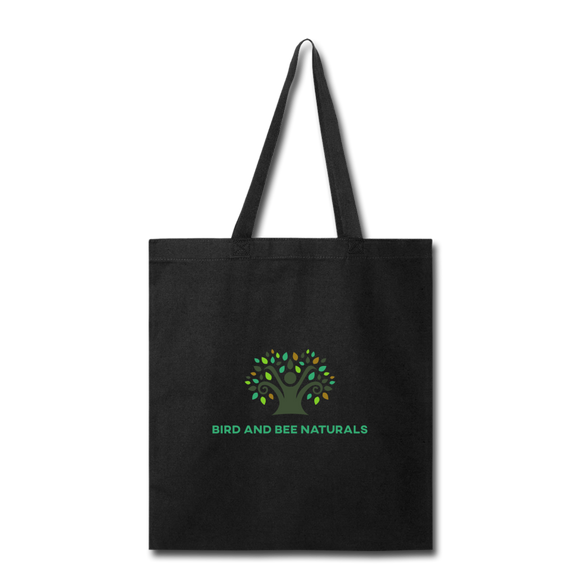 100% Cotton Tote Bag - Bird and Bee Naturals