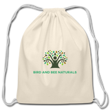 100% Cotton Drawstring Bag / Backpack - Bird and Bee Naturals