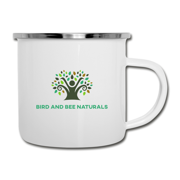 Stainless Steel Coffee / Camper Mug - Bird and Bee Naturals