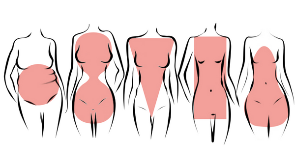The Luxe Nude Body Shapes