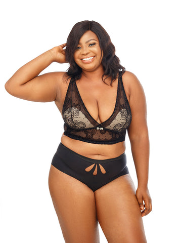 Movens Thong - The Luxe Nude | Plus Size Lingerie and Underwear
