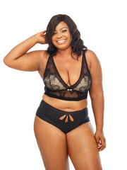 Movens Bralette - The Luxe Nude | Plus Size Lingerie and Underwear
