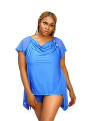 Savis Night Top - The Luxe Nude | Plus Size Lingerie and Underwear