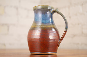 Stein in Rust Red and Breakfast Blue