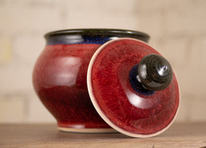 Red and Black Small Canister