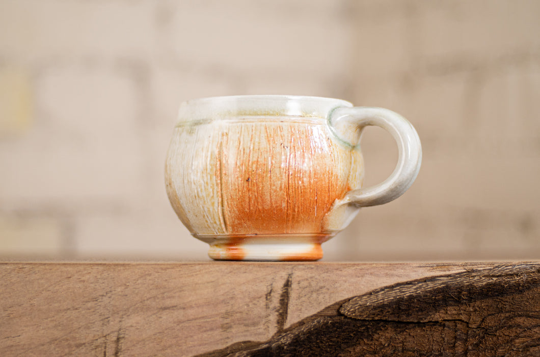 Porcelain Wood-Fired Espresso Cup