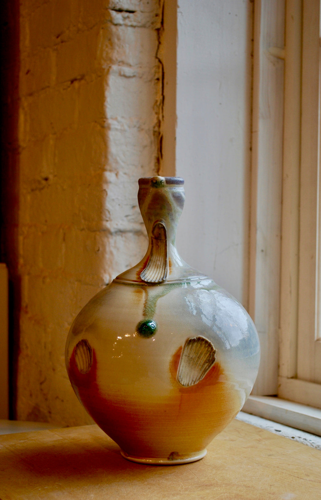 Porcelain Wood-Fired Vase