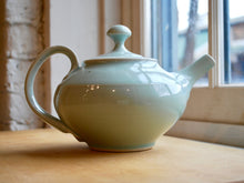 Load image into Gallery viewer, Celadon Porcelain Teapot