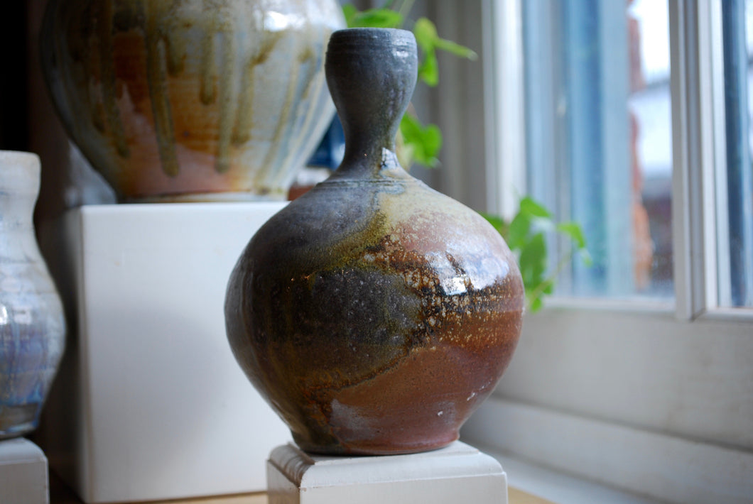 Wood-Fired Bud Vase