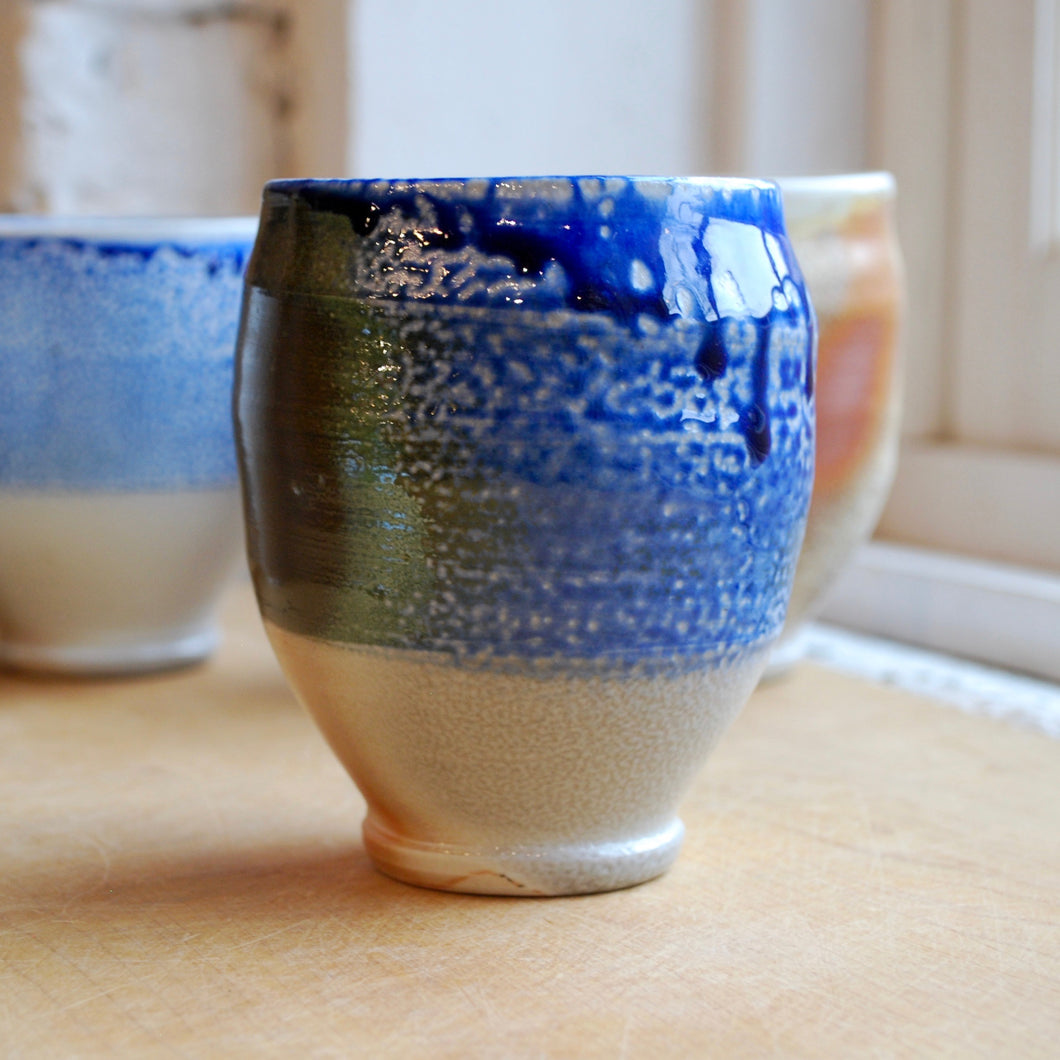 A Porcelain Soda Fired Cup