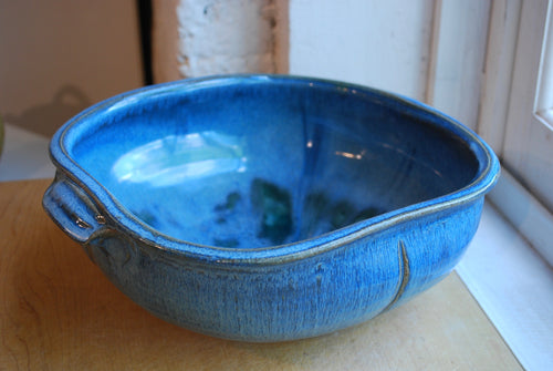 Soda Fired Cerulean Bowl