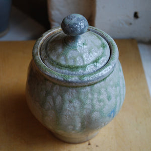 Soda-Fired Ash Drip Jar