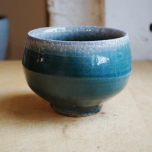 Load image into Gallery viewer, Soda-Fired Small Blue Bowl