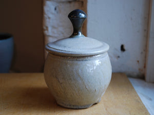 Soda-Fired Small Jar