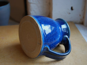 Gas-Fired Blue Mug