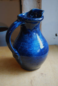 Gas-Fired Ocean Blue Pitcher